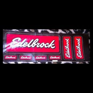Edelbrock Car Stickers